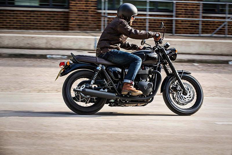 2019 Triumph Bonneville T120 Black